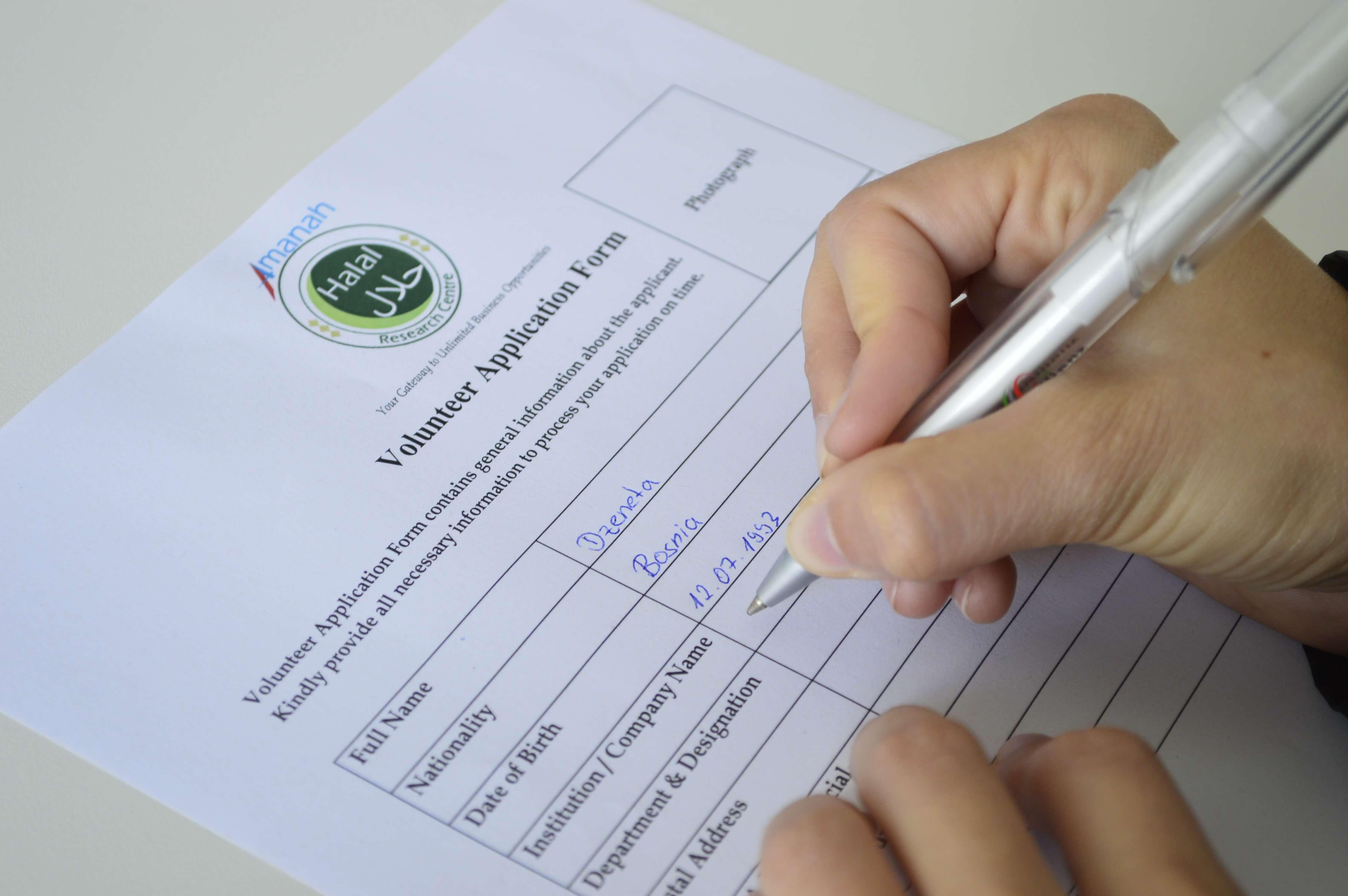 Volunteering Amanah Halal Research Centre